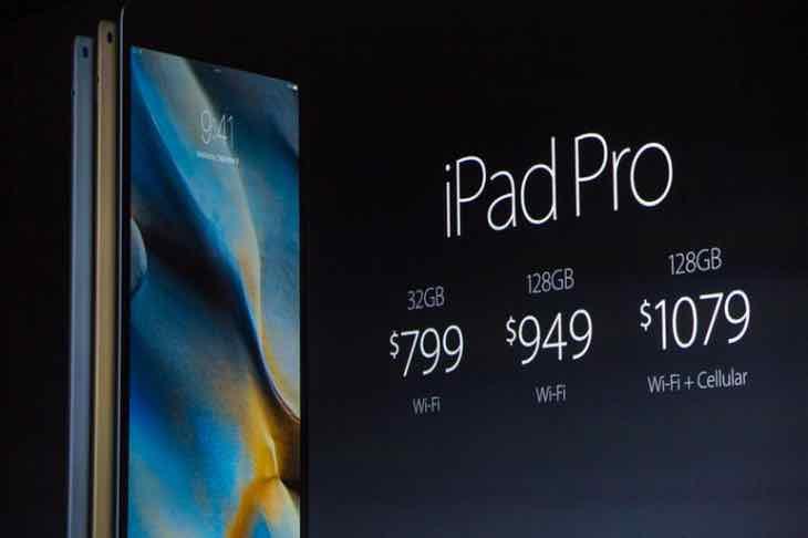 iPad Pro pre-order price drop