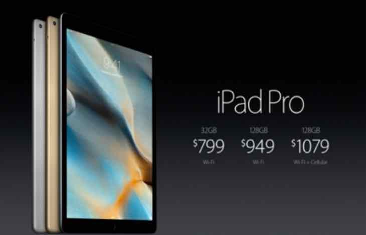 iPad Pro pre-order time