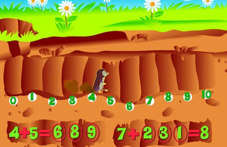 iPad maths games cool for kids