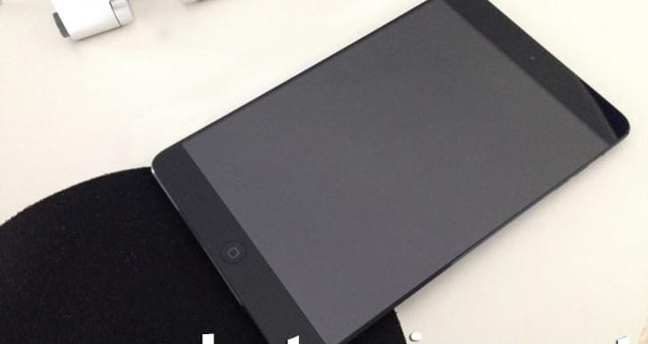 iPad mini 2 final design leaked