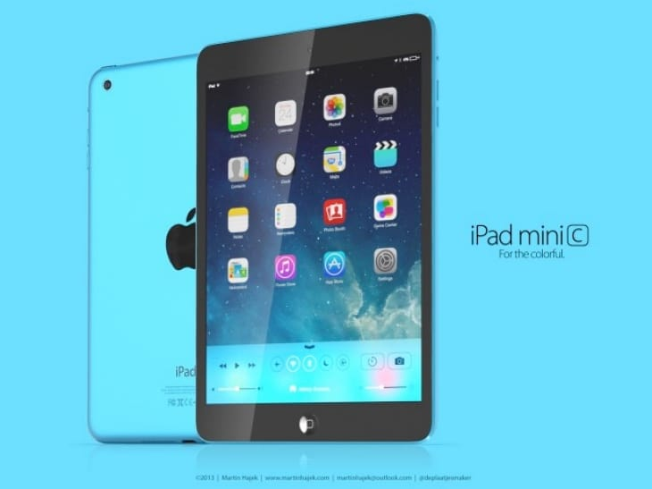 Possible iPad mini 2C model