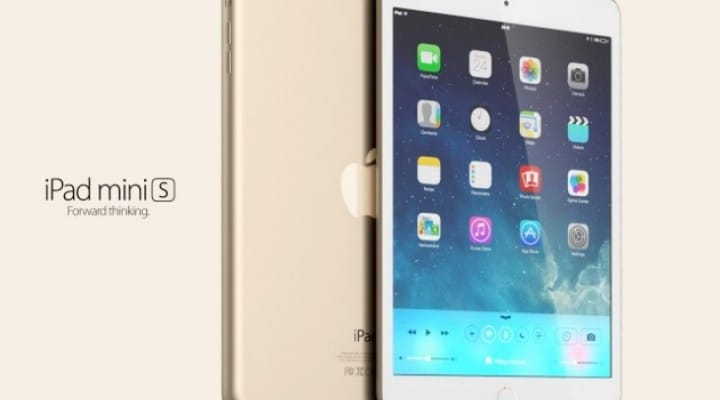 iPad mini 2 specs with S / C strategy