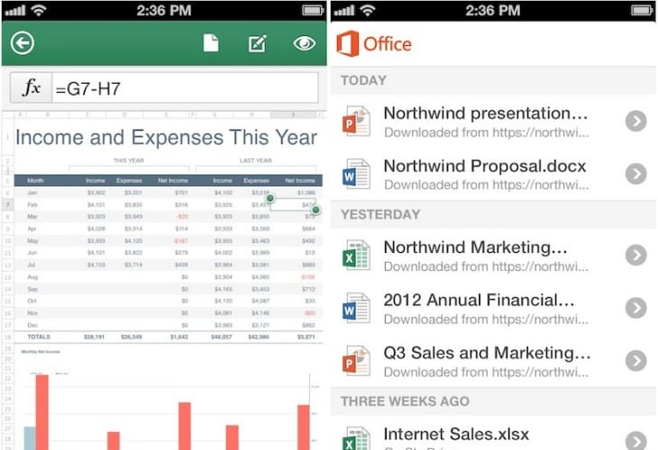 iPad misses out on Office Mobi