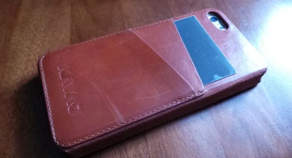 iPhone 5 Kavaj case given quick review