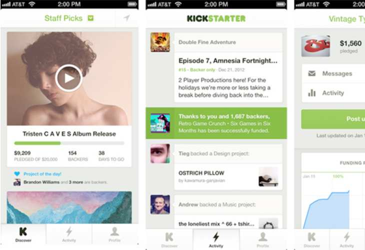 iPhone 5 apps for tech enthusiasts, meet Kickstarter