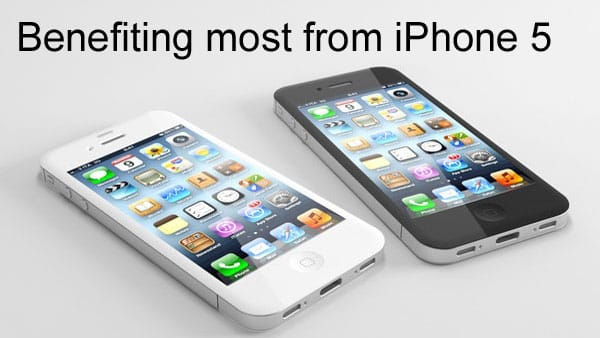 iPhone 5 beneficiaries from rumors
