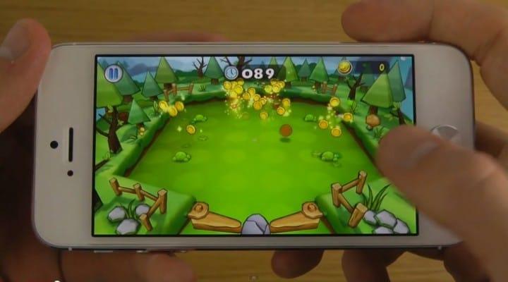 iPhone 5 games running on iOS 7 beta 5