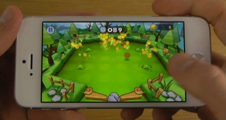 iPhone 5 games running on iOS 7 beta 5