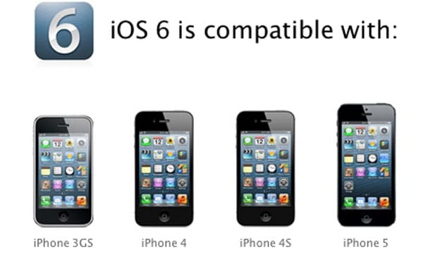 iPhone 5 lacks iOS 6 exclusive features