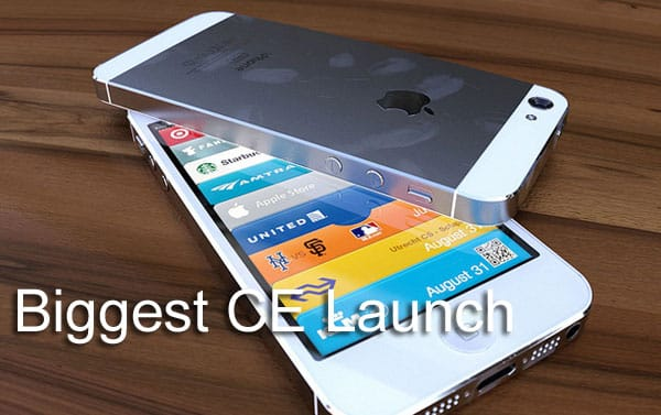 iPhone 5 landmark launch