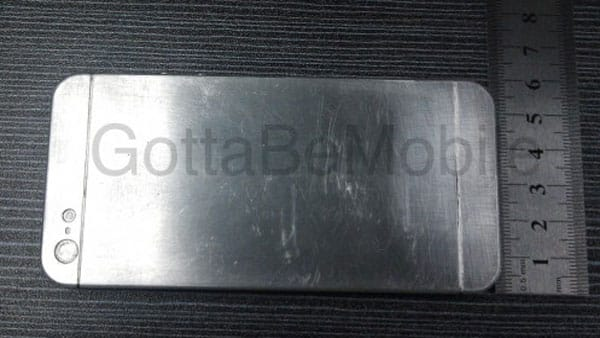 iPhone 5 worker leaks metal block