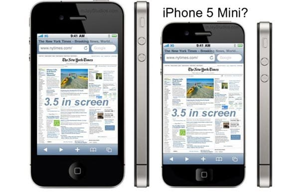 iPhone 5 mini may follow iPad success