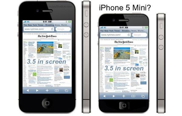 iPhone 5 mini may follow iPad success