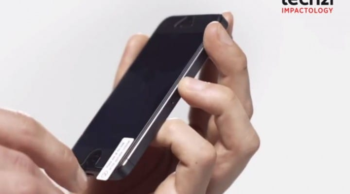Next-gen iPhone 5, Galaxy S3, S4 screen protector by Tech21