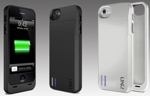 iPhone 5 life helped by uNu DX battery case