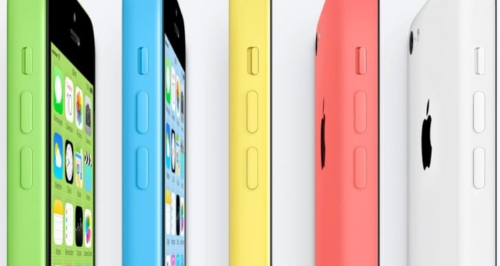 iPhone 5C UK pre-order and price options