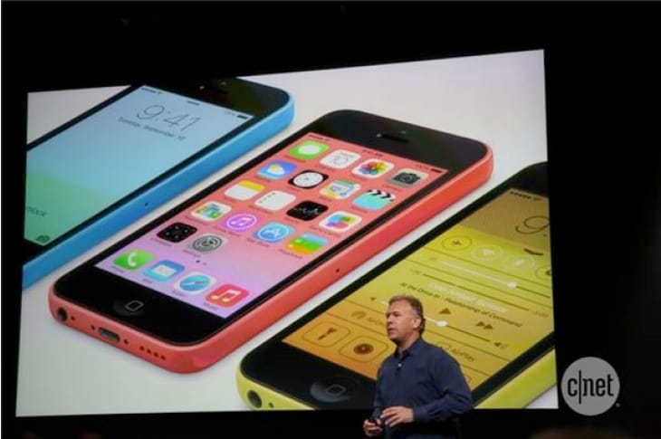 iPhone 5C custom cases to diversify colors