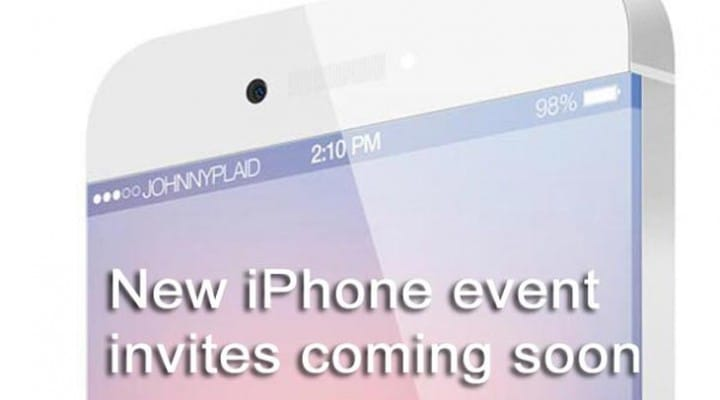 iPhone 5S and 5C release date will be in Sept