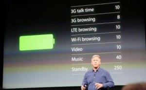 iPhone 5S battery life concerns in 64 bit apps