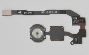 iPhone 5S features fingerprint scanner on box