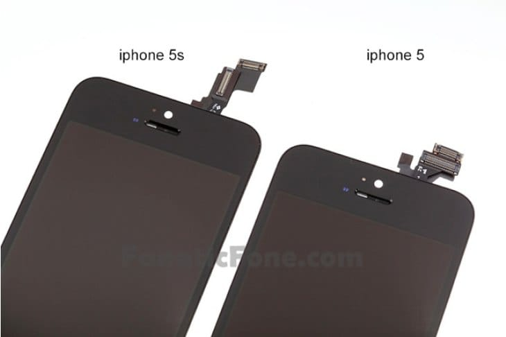 iPhone 5S vs. 5 changes clear in leak