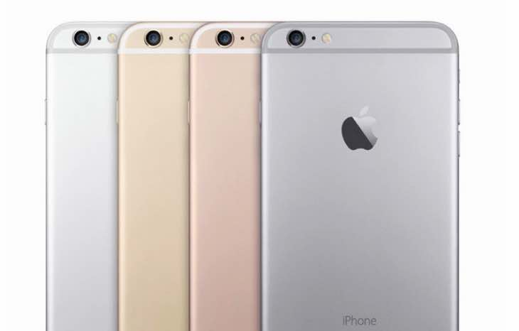 iPhone 5se colors