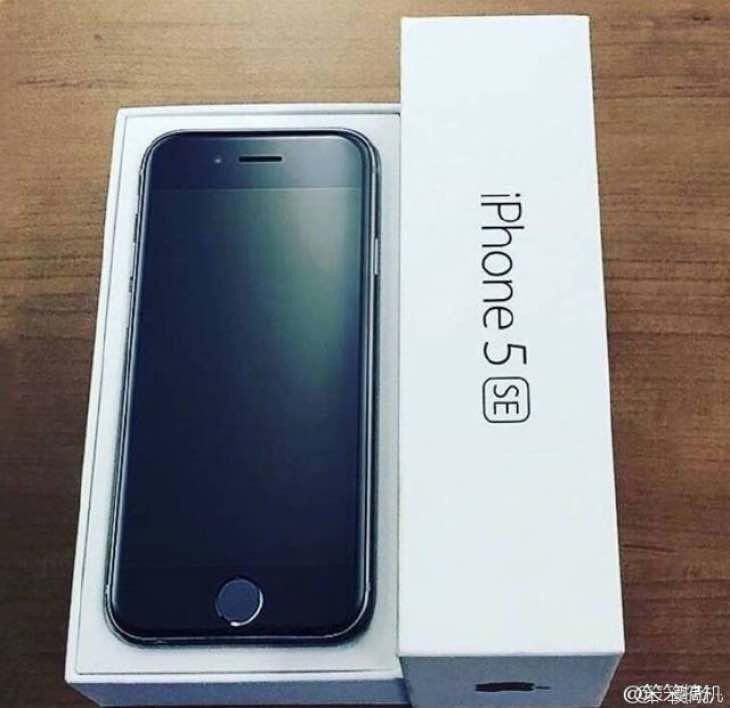 iPhone 5se unboxing