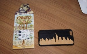 iPhone 6 Carved wood case review with nod to NYC