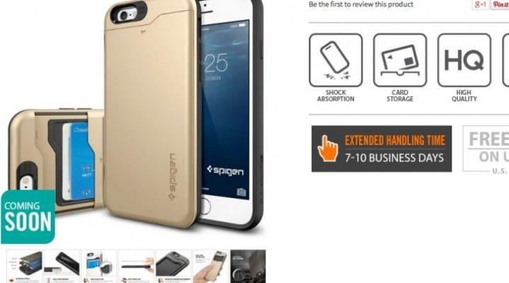 iPhone 6 Plus Case Slim Armor CS coming soon