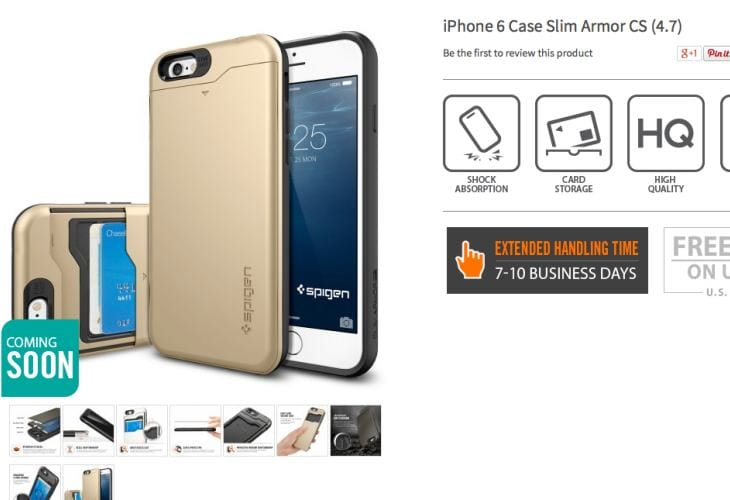 iPhone 6 Plus Case Slim Armor CS coming soon