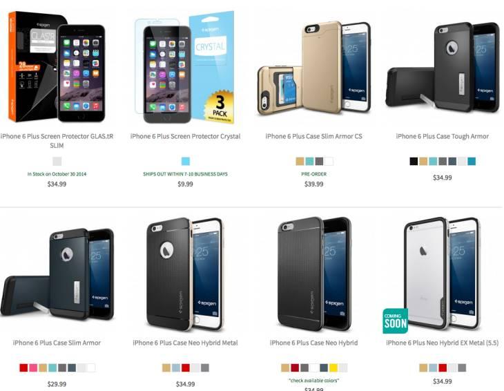 iPhone 6 Plus cases by Spigen