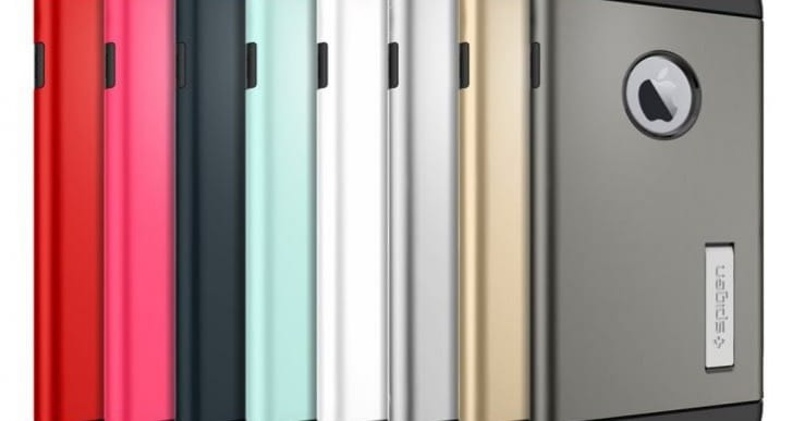 iPhone 6 Plus vs Galaxy Note 4 Slim Armor case