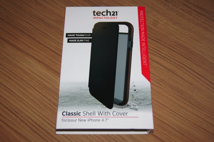 iPhone 6 Tech21 Case Classic Shell with Cover review 1