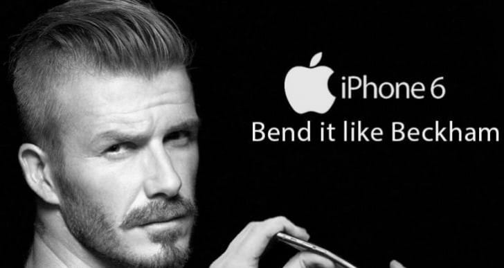 iPhone 6 bend test with funny pictures