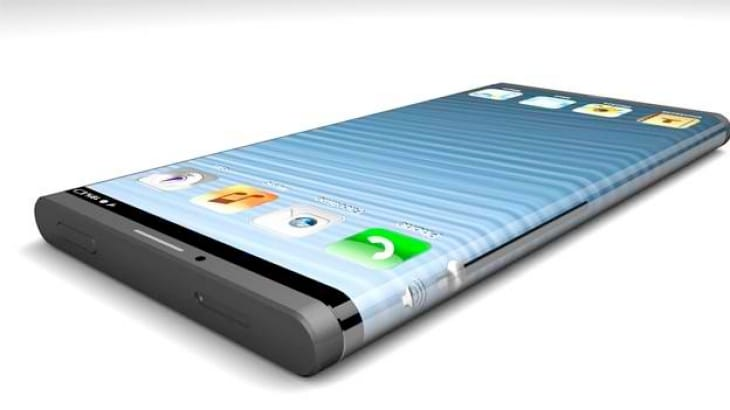 iPhone 6 concept like Galaxy S5