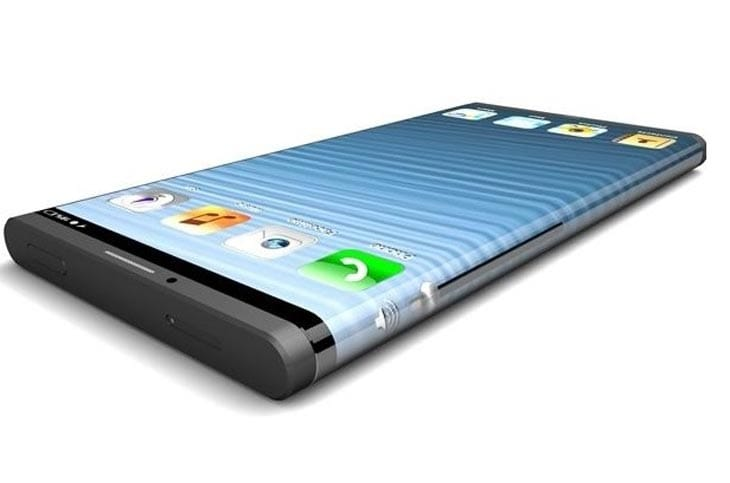 iPhone 6 curved wraparound display