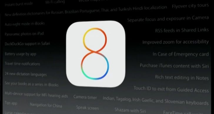 iOS 8 features the search users want