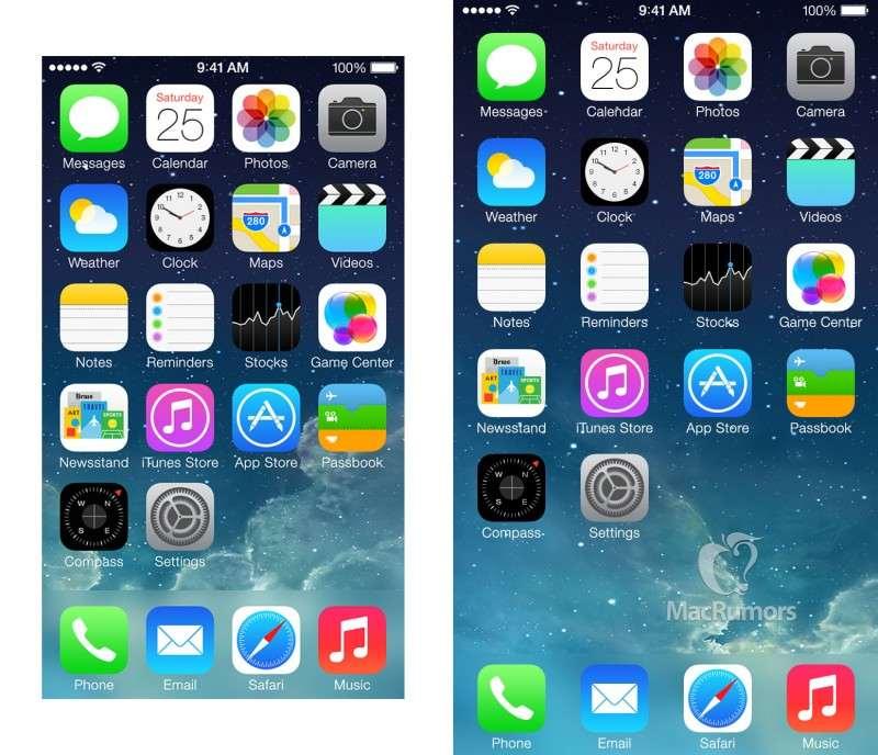 iPhone 6 home screen