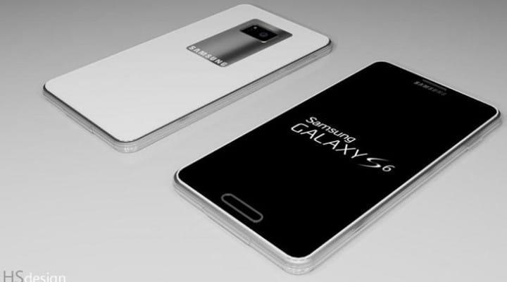 iPhone 6 phablet within Galaxy S6 concept