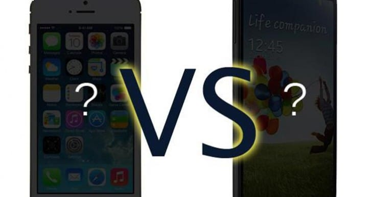 iPhone 6 vs. Galaxy S5 brand over specs