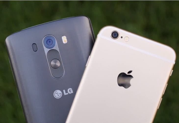 iPhone 6 vs LG G3 camera