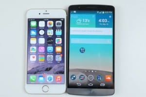 iPhone 6 vs LG G3 camera and speed test