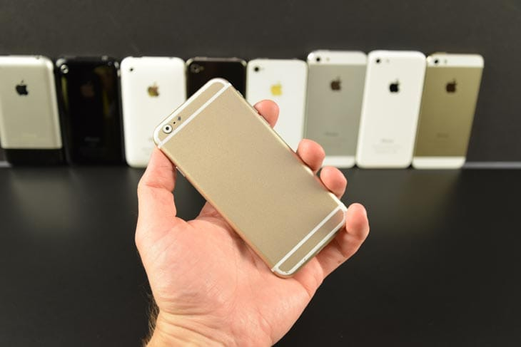 Apple Auto Sales >> iPhone 6 vs. 5S, 5, and 4S in mock-based review – Product ...