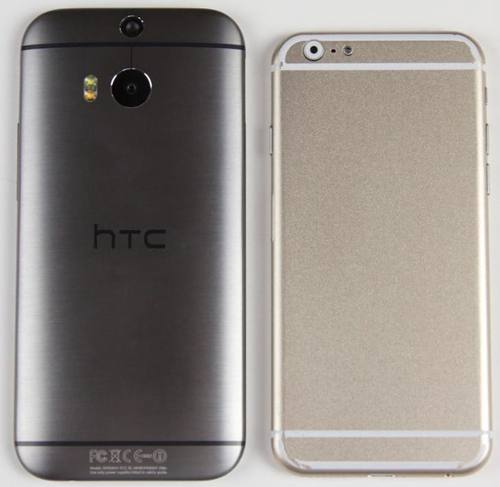 iPhone 6 vs. HTC One M8
