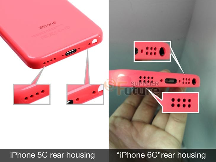iPhone 6C Vs 5C in pink with budget price