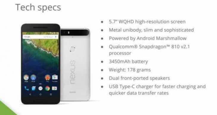 iPhone 6S Plus Vs Nexus 6P rumored specs before release