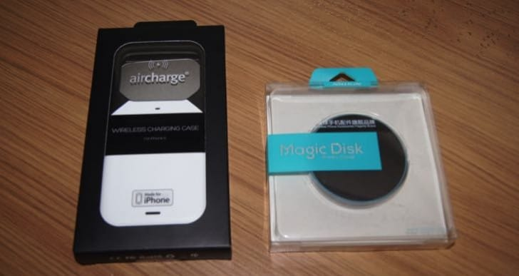 iPhone 6S Aircharge Wireless Charging Case and Nillkin Magic Disk