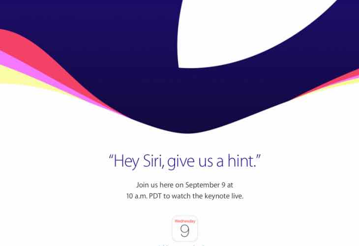 iPhone 6S release date announced