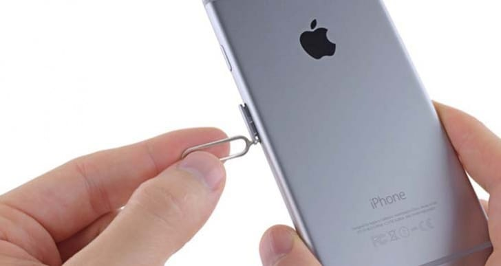Use iPhone 5, 5S sim card size in 6S