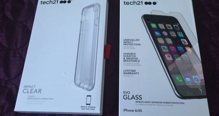 iPhone 6s Tech21 Impact Clear Case and Evo Glass Screen Protector review